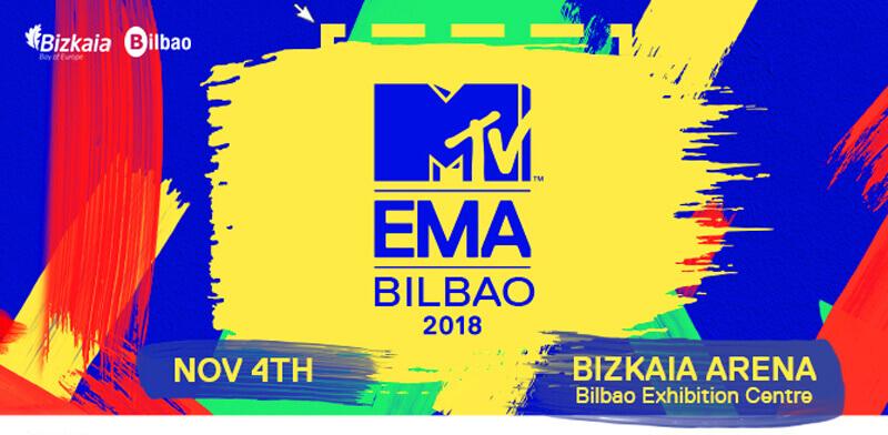 La gala de los premios MTV Europa viene a Bilbao en noviembre