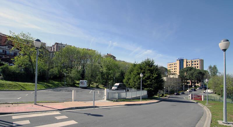 área para autocaravanas Bilbao Hostel