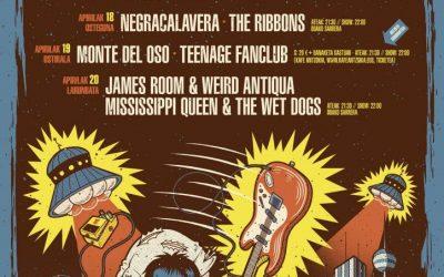 Bilbao suena a rock del 17 al 20 de abril
