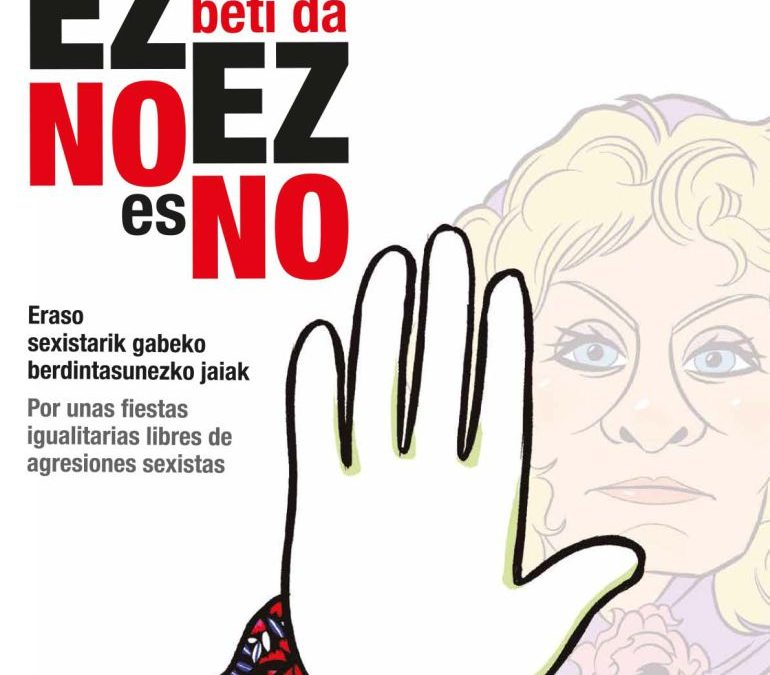 APP gratuita para prevenir agresiones en Aste Nagusia de Bilbao