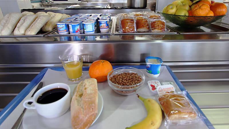 Desayuno Bilbao Hostel