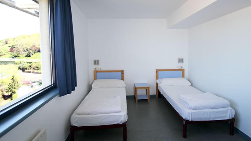 Habitación doble Bilbao Hostel