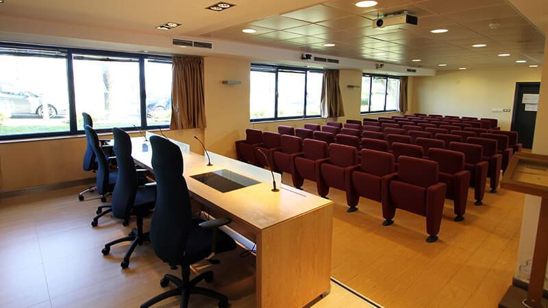 Salón actos Bilbao Hostel