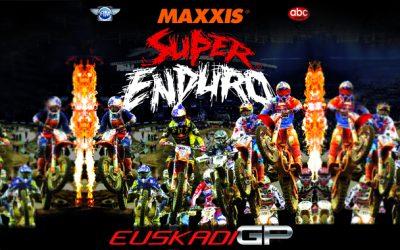 Campeonato del Mundo de Superenduro GP Euskadi en el Bizkaia Arena de Barakaldo