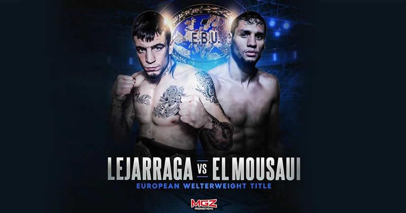 Boxeo. Titulo Europeo del peso walter. 24 de marzo. Bilbao Arena