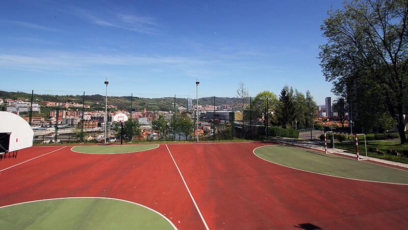 Zona deportiva Bilbao Hostel